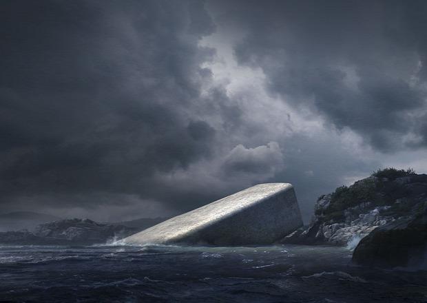dizájn Norvégia étterem vízalatti