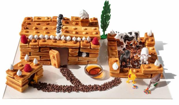 hétévi dizájn goffri sütő LEGO