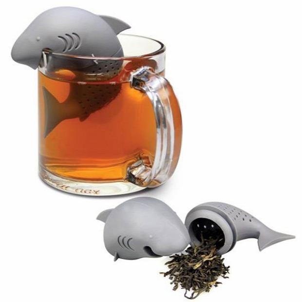 Hétvégi dizájn cápa teafilter tea filter