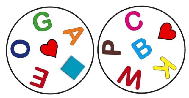 vizuális figyelem szókincs-aktivizálás játék