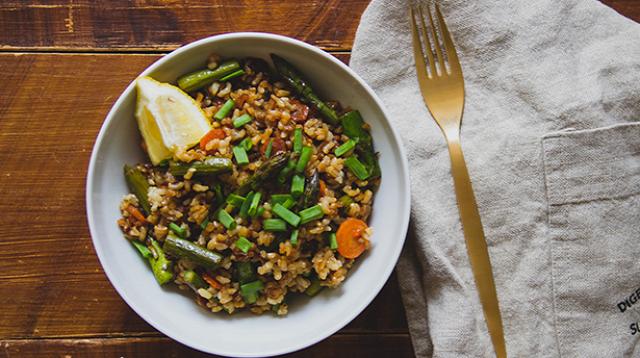 pirított rizs zöldségek Zizi kalandjai