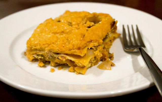 lasagna olasz konyha sütőtök tél ősz besamel sajt mozzarella