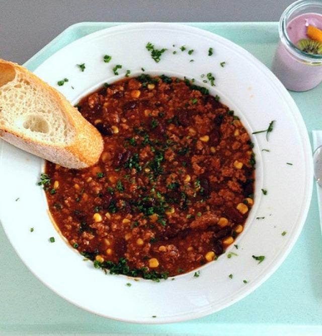 mexikói egytálétel chili con carne