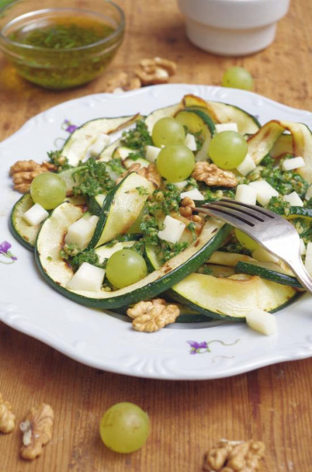 cukkini fogyókúra ősz zöld múzsa