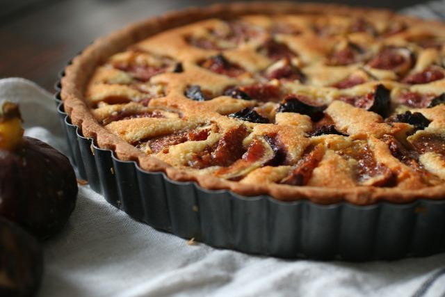 füge desszert ősz dió torta