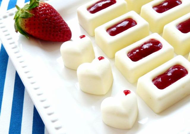 eper nyár desszert sütemény joghurt panna cotta édesem