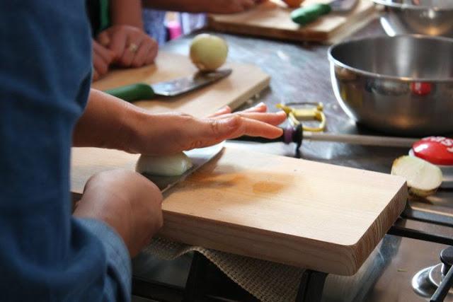 késtechnika zöldség vágás maki stevenson julienne alaptechnika aprítás főzés sütés