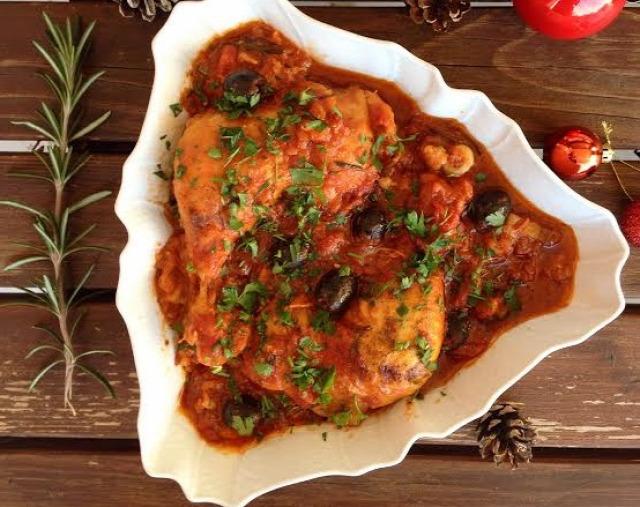 karácsony ünnepi menü olasz étel csirke