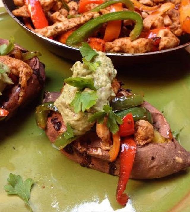 paleo édesburgonya mexikói ebéd