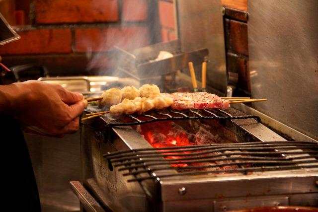 csirke grill nyárs jakitori yakitori recept grillezés japán konyha szójaszósz mirin