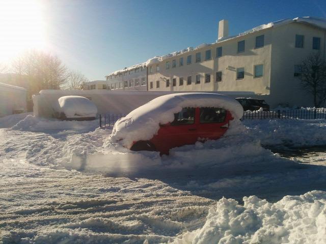 Izland időjárás ciklon hó tél