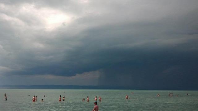 viharjelzés balaton meteorológia vihar