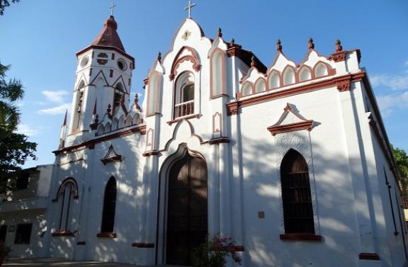 A templom, ahol megkeresztelték Gabriel García Márquezt
