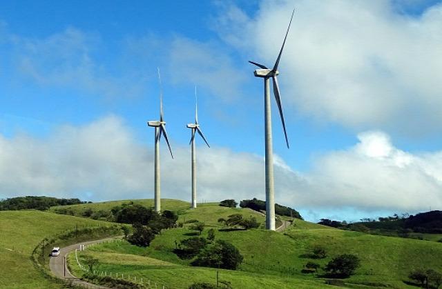 Costa Rica 100%-ban megújuló energiaforrásokat használ