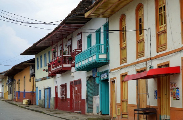 Kolumbia Salento Armenía Parque del Cafe