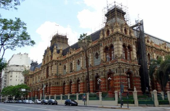 A Palacio de Aguas Corrientes az argentin eklektika legszebb példája