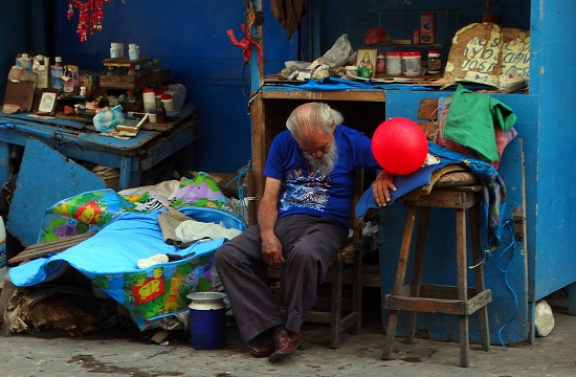 Piaci hangulat Barranquillában