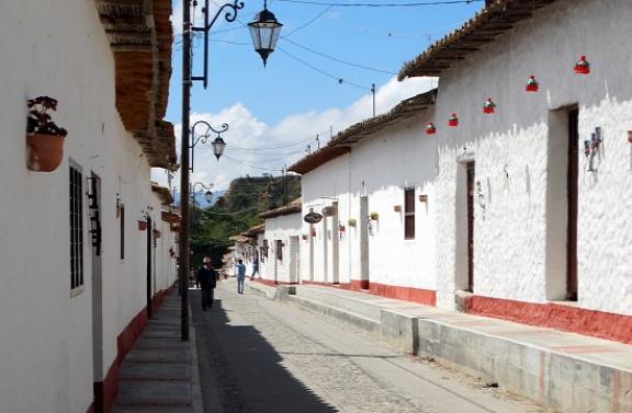 Klasszikus utcakép La Playa de Belénben