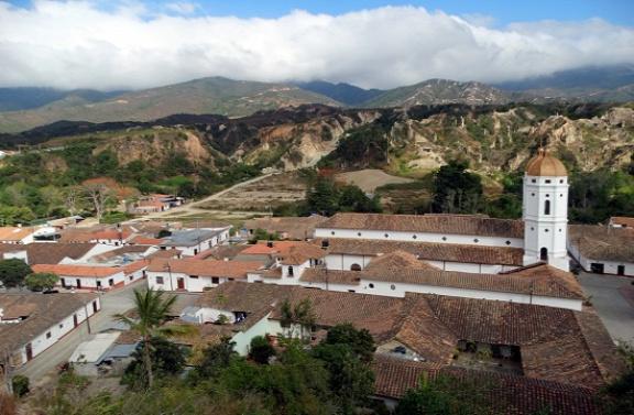 La Playa de Belén látképe a Kálváriáról
