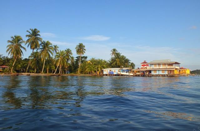 A Bocas melletti Isla Carenero szigete