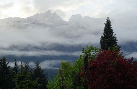 Bolsón felett a hegyek