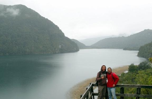 Teke és én a Laguna Verdénél