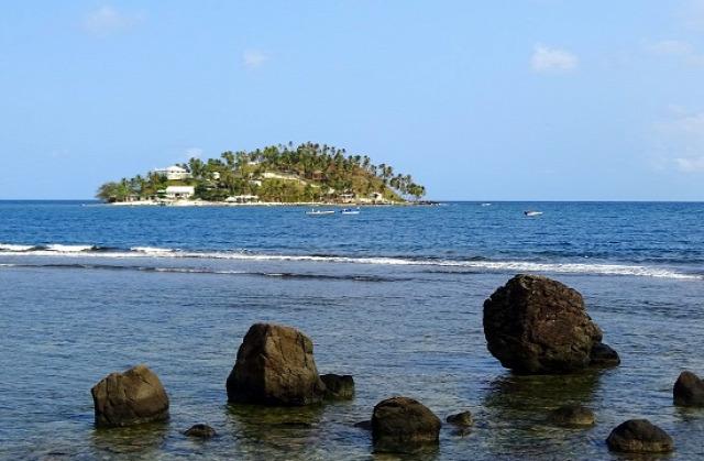 Ilyen a partvidék Puerto Lindo környékén
