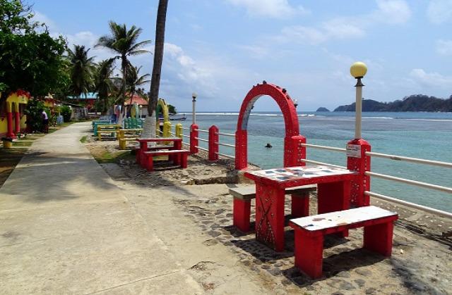 Isla Grande hétköznap teljesen kihalt