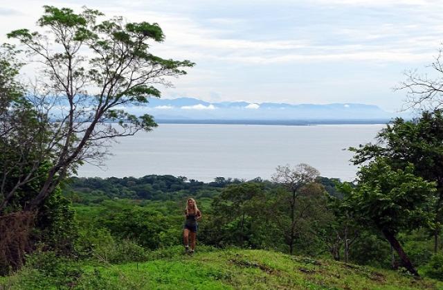 Nicaragua Chinandega Cosigüina-vulkán