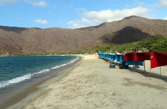 Bahía Concha kellemes strand