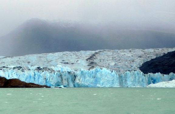 A Viedma-gleccser Patagónia második leghosszabb gleccsere