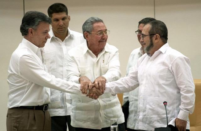 Kolumbia FARC gerilla