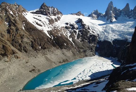 A Laguna Suciáról már leolvadt a jég