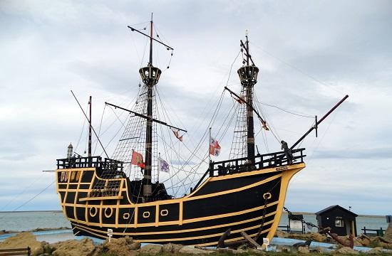 Magellán hajójának a másolata
