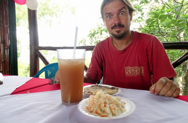 Nicaragua El Salvador gasztronómia