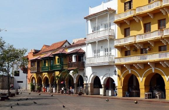 Cartagena központjában a legdrágábbak az ingatlanok