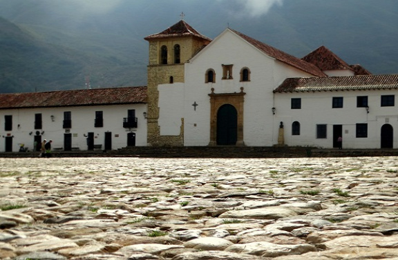A kolumbiai gazdagok faluja: Villa de Leyva