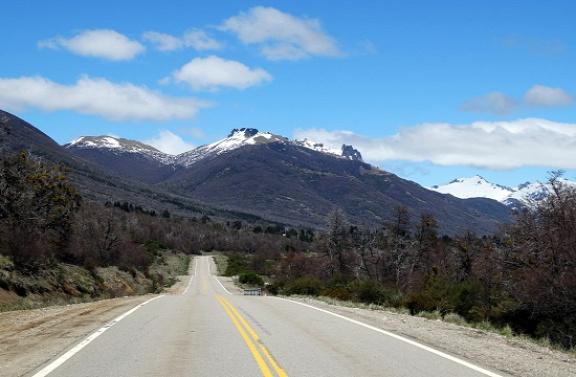 A 234-es út a Hét-tó vidékén