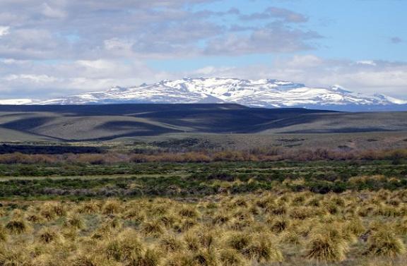 Lélegzetelállító pusztaság Junín de los Andes határában