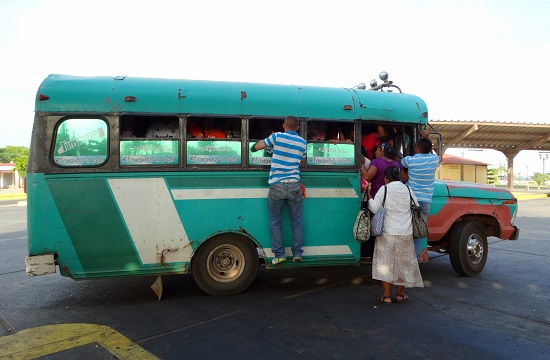 Indul a busz Maracaibóba