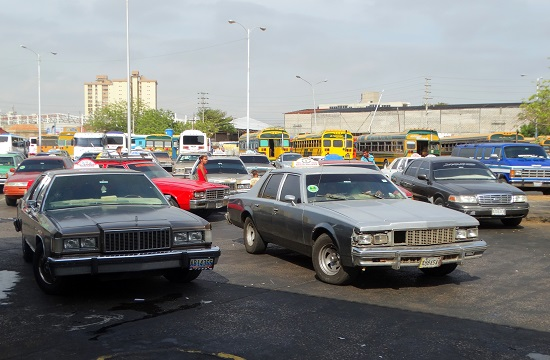 Por puestók Maracaibo terminálján