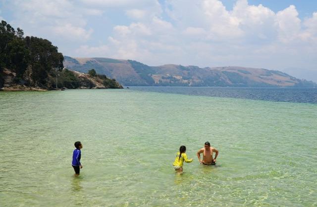 Kolumbia Monguí Lago Tota Iza