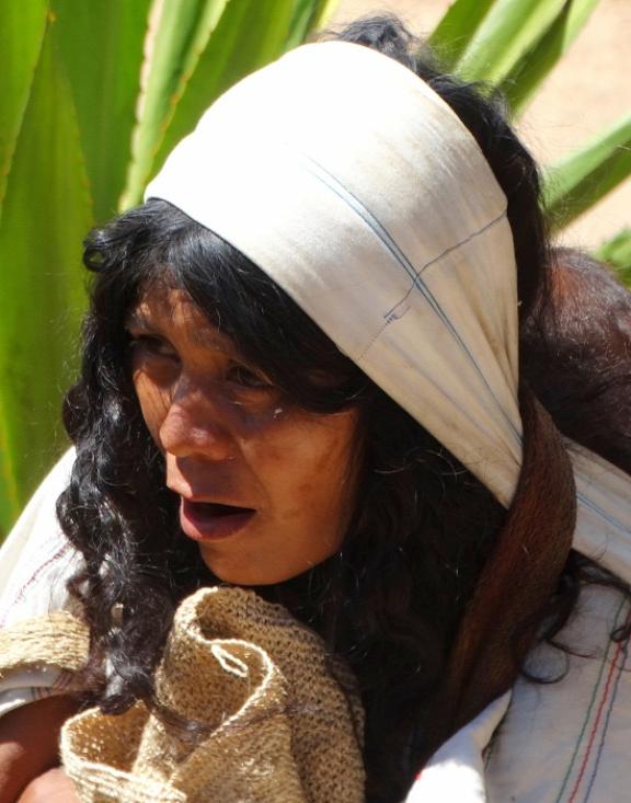 Arhuaco asszony