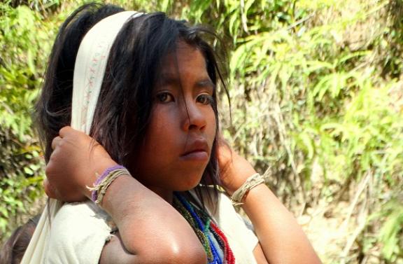 Arhuaco kislány