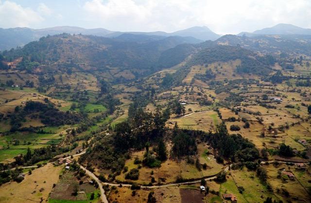 Kolumbia Monguí Ocetá paramo