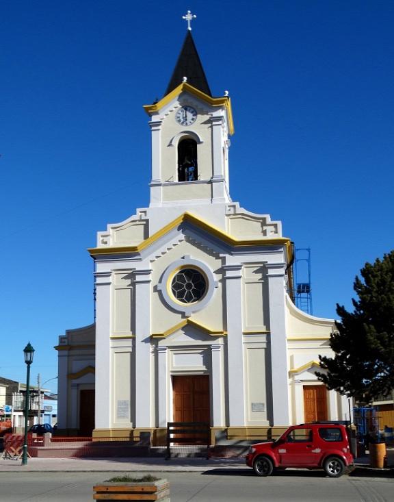 Puerto Natalesben nem túl keresztényiek a pénzváltók