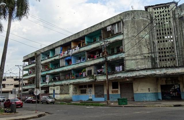 San Miguelben sok ilyen házat látni