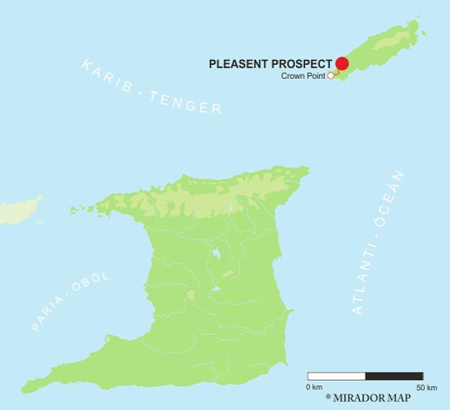 Trinidad és Tobago Crown Point Pleasent Prospect
