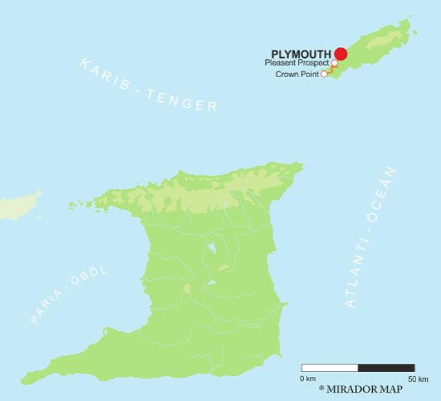Trinidad és Tobago Crown Point Plymouth