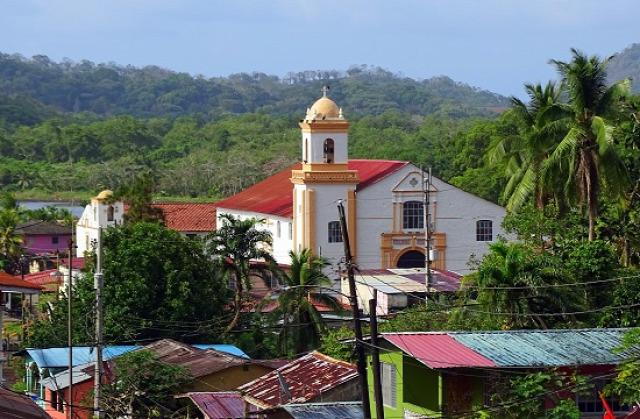 Portobelo a környék legnagyobb települése